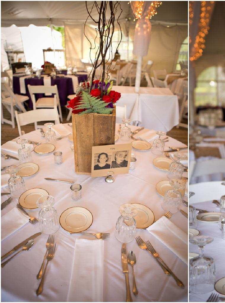centros mesa caja madera. originales diseños centros boda
