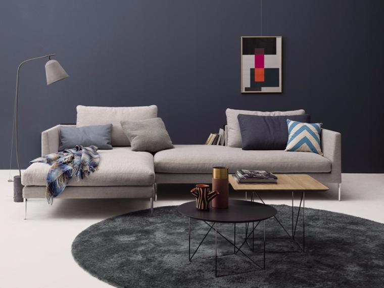 mesas distintas formas alfombra preciosa ideas
