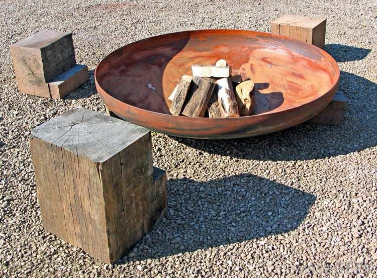 metalicos detalles modernos tronco detalles sillas