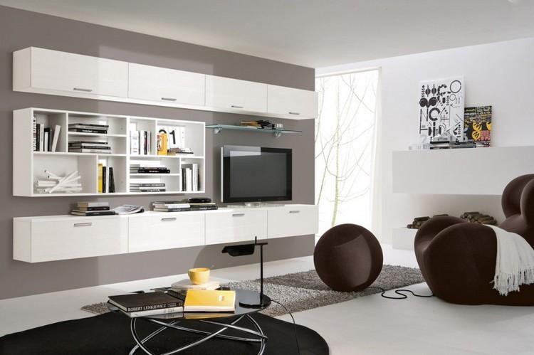 mobiliario paredes led colores blanco libros