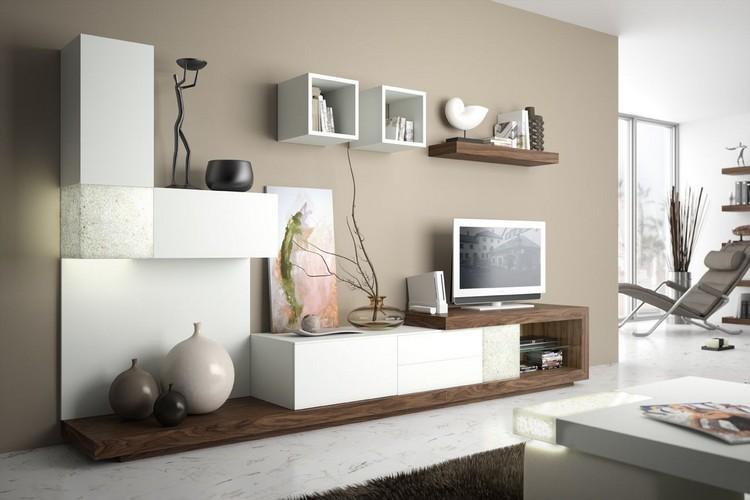 Mobiliario paredes y salones opciones funcionales con - Mobiliario y estilo ...