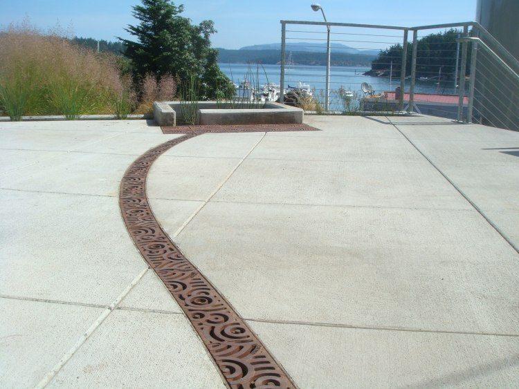 pavimentos jardines diseño modernos