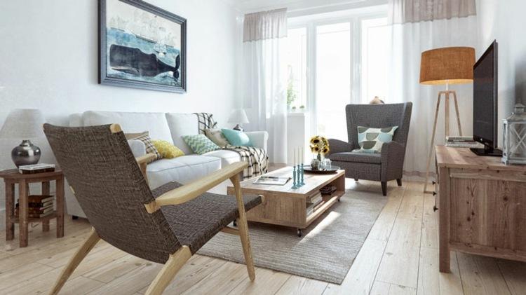 muebles salón pequeño moderno