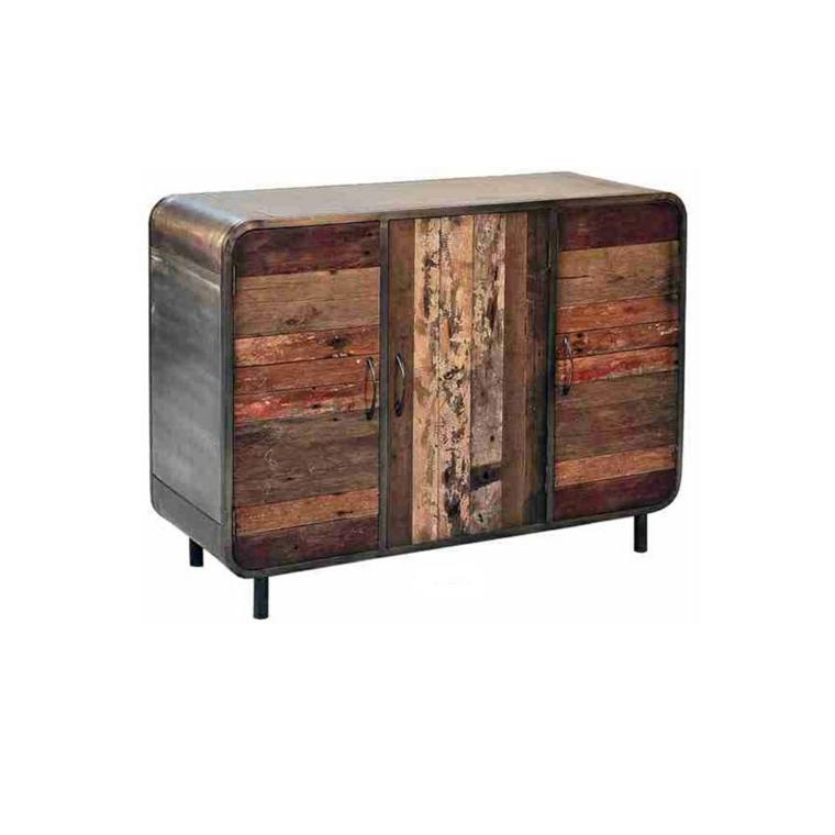 mueble cómoda madera reciclada original