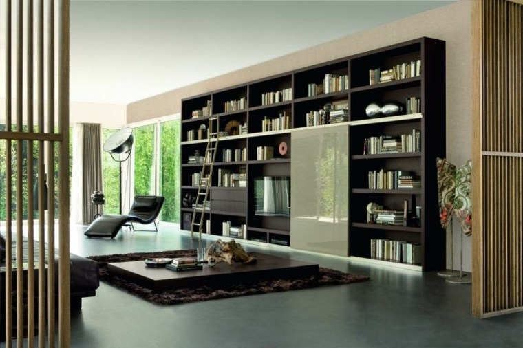mueble estantes grande salon sala