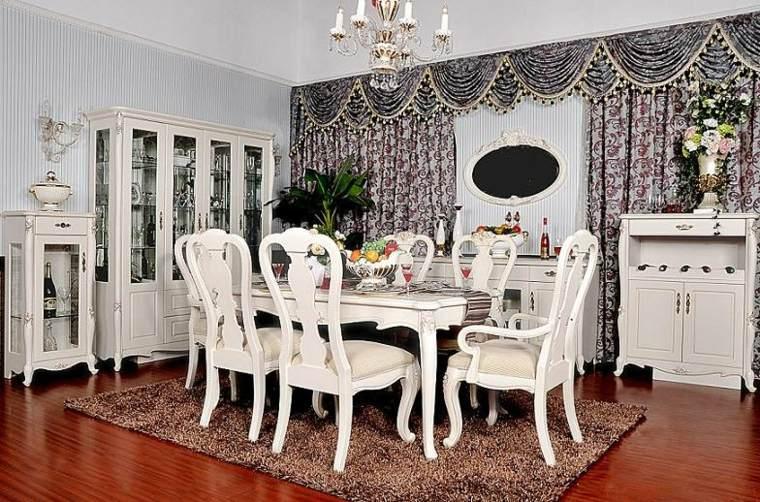 Comedores vintage c mo decorarlos con un toque retro for Muebles de comedor antiguos