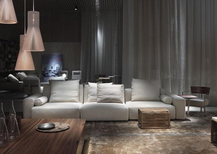 muebles casas originales salas calidos elementos