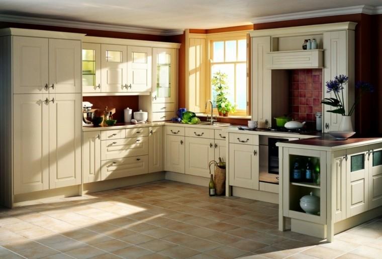 ideas para decorar muebles de cocina antiguos