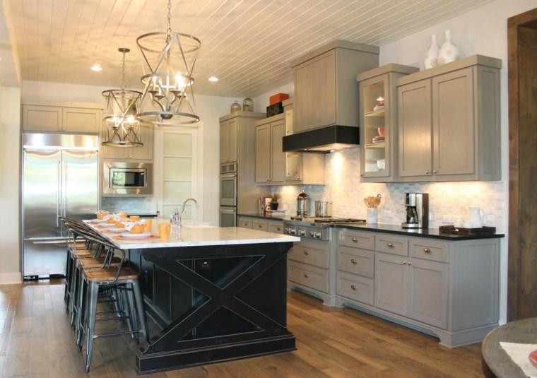 muebles de cocina de estilo retro