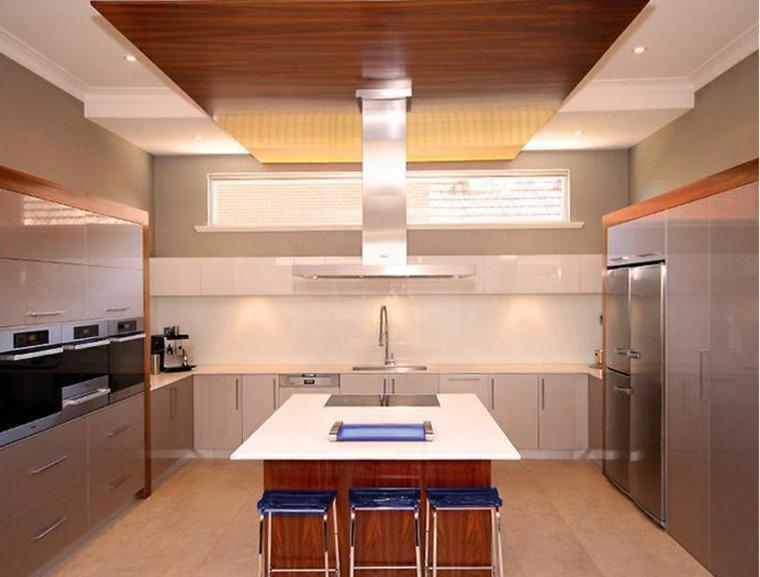 Cocina de obra treinta y siete dise os estupendos for Gabinetes de cocina modernos 2016