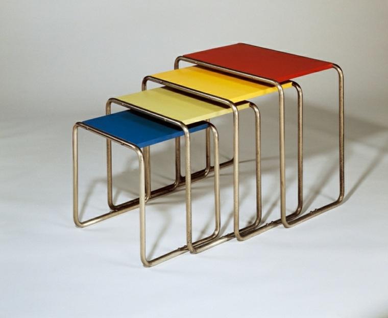 muebles sencillos colores funcionales modernos