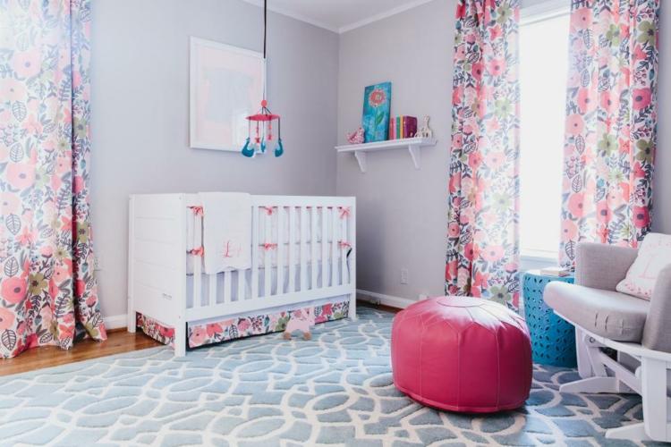 muebles cortinbas flores colores rosa