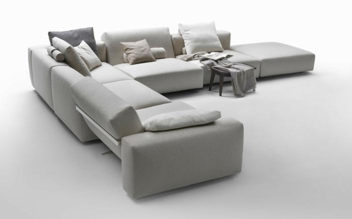 muebles de salon diseño casas decorados elegantes cojines