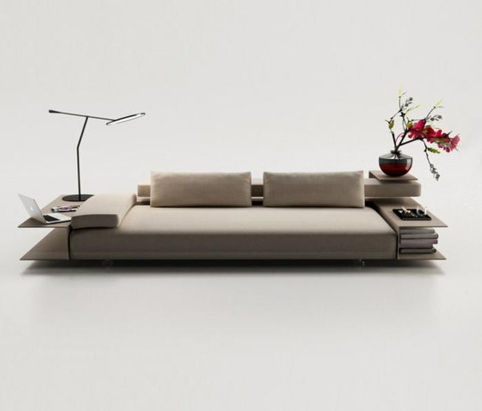 muebles de salon diseño elegante capacidades flores