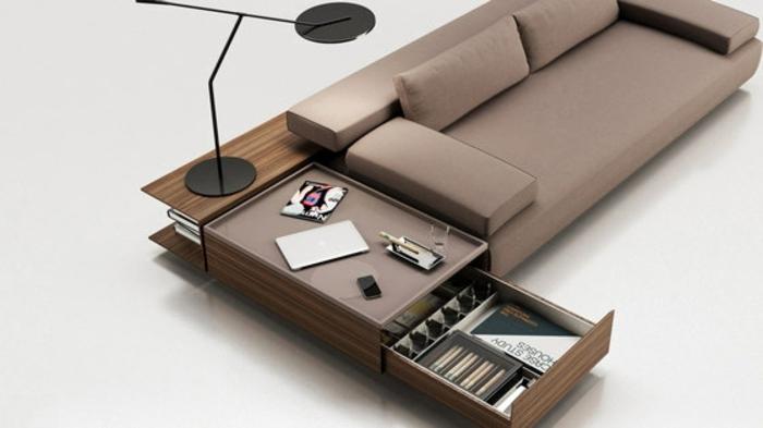 muebles de salon diseño elegante variantes desplegable