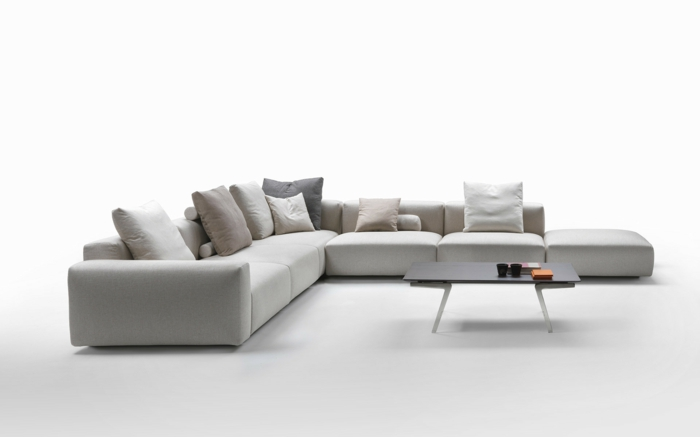 muebles de salon diseño pequeños salientes mesas