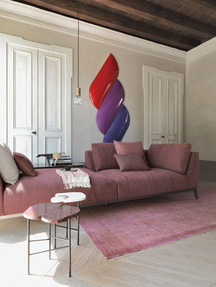 muebles diseño salon mesitas preciosas ideas