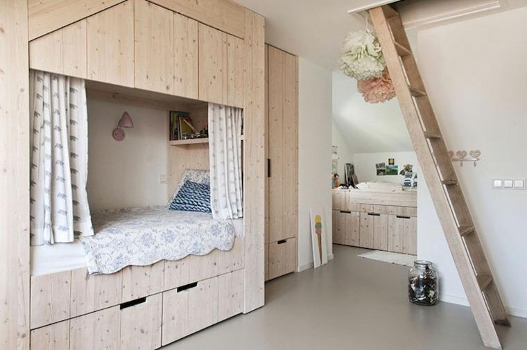 muebles dormitorio infantil madera
