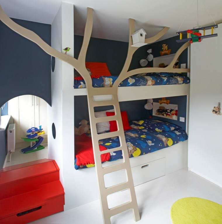 Habitaciones infantiles de moda 50 dise os divertidos - Diseno dormitorios infantiles ...