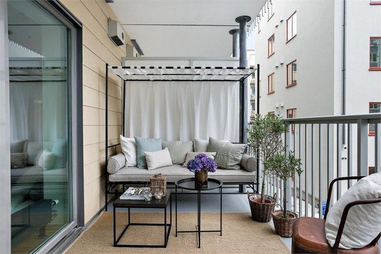muebles terraza diseño estilo moderno