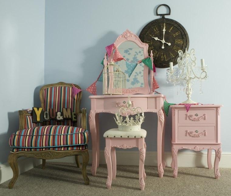 muebles habitación estilo vintage