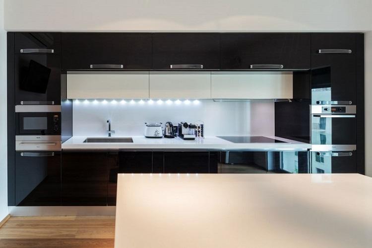 muebles led luces campanas estilos led contrastes