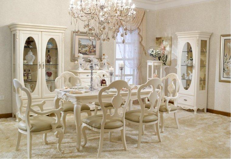 muebles lujosos comedor estilo vintage