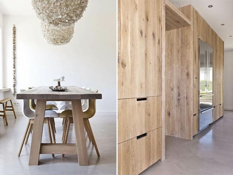 Maderas rusticas para decorar interiores 38 ideas for Diseno de muebles de madera modernos