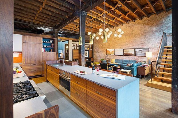 muebles para loft Andrew Franz Architect isla grande ideas