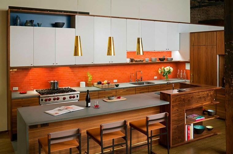 muebles para loft Andrew Franz Architect opciones cocina ideas