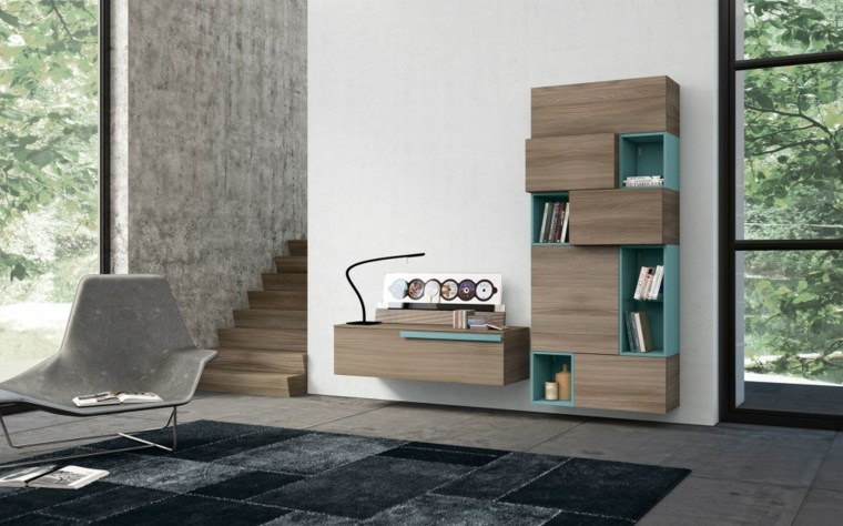 Muebles para salon 36 opciones para habitaciones con estilo - Colors for modern living room chromatic vitality ...