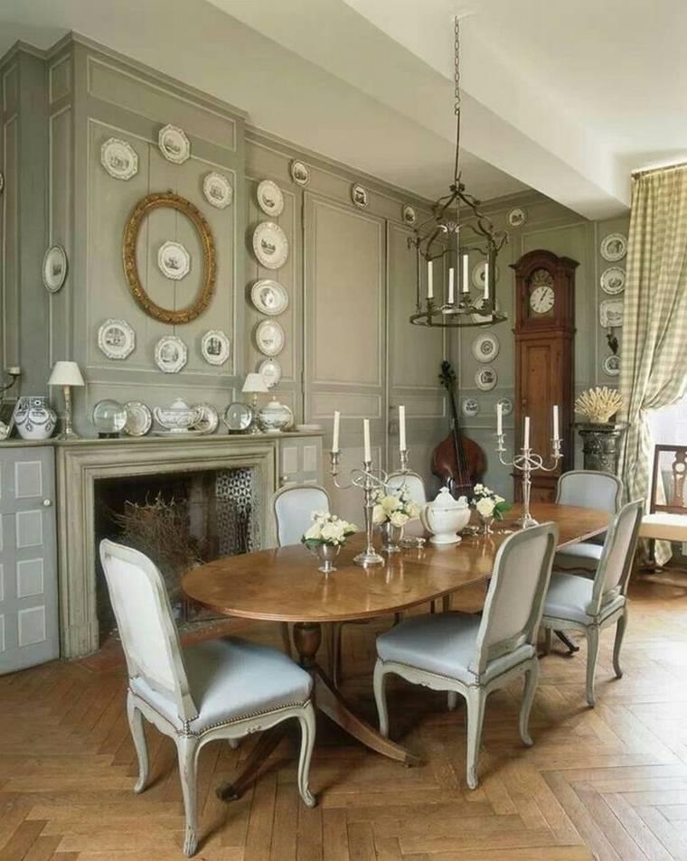 Comedores vintage c mo decorarlos con un toque retro - Muebles estilo neoclasico ...