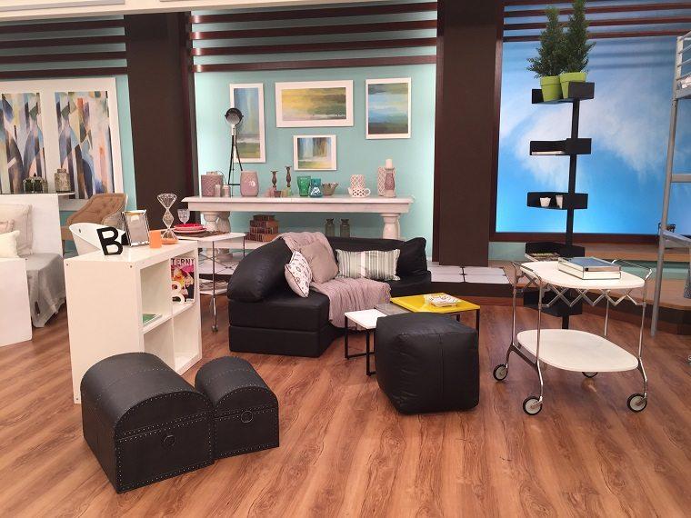 decoracion apartamentos pequeños muebles salón diseño funcional