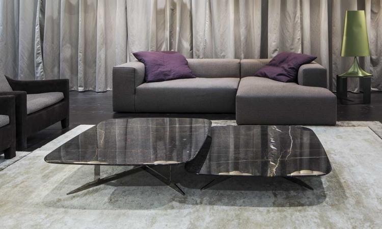 muebles salon ideas combinaciones materiales cortinas