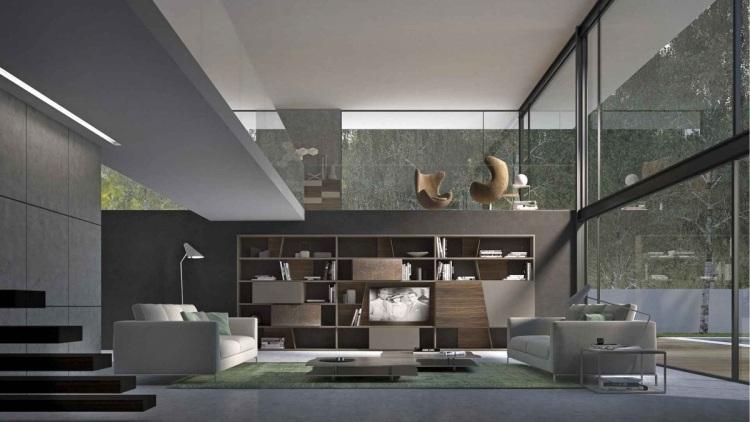 muebles salon ideas funcionales modulo amplio