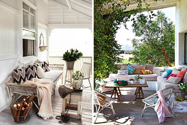 diseñosmodernos decoraciones porches