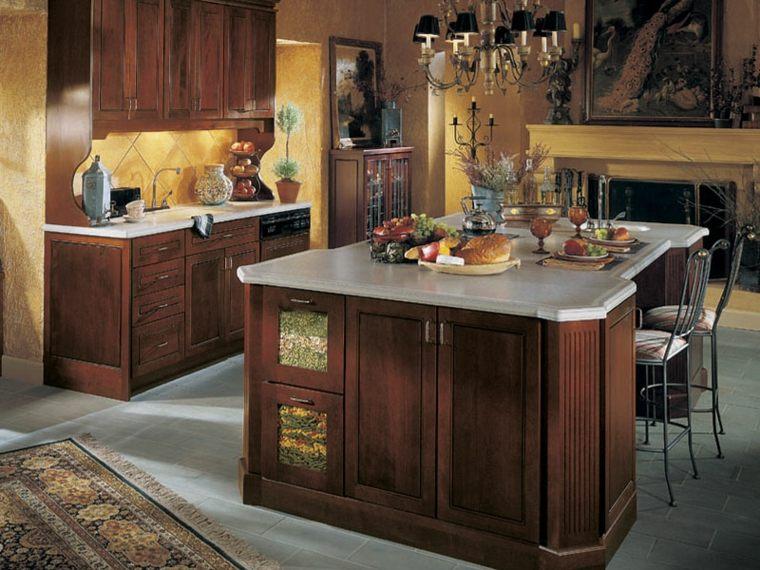 decoraci n de cocinas antiguas 38 ideas geniales On adornos para muebles de cocina
