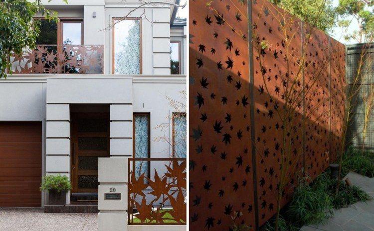 muro colores diseños flores salones recortados