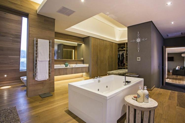 natural ambientes baños tejidos toallas