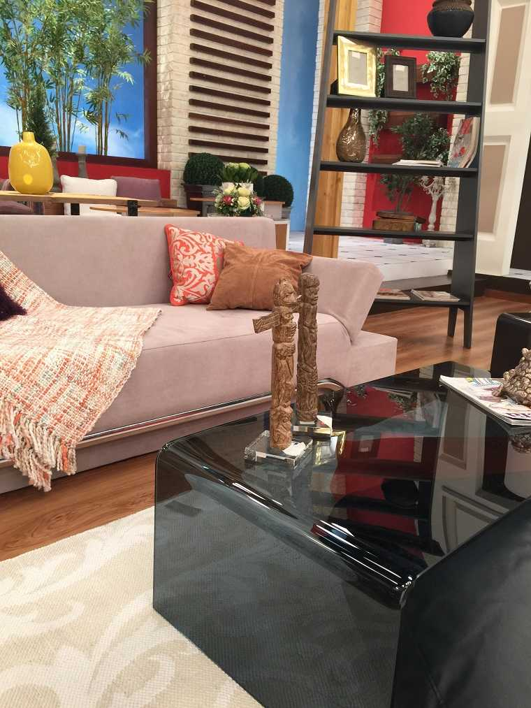 decoracion apartamentos pequeños muebles diseño moderno Sissy Feida