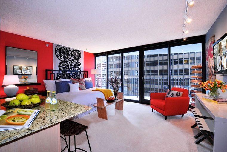 Decoracion apartamentos peque os cincuenta ideas - Decoracion apartamentos playa ...