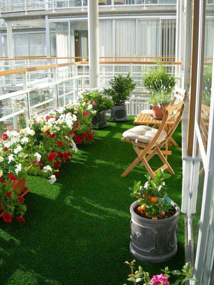 origial diseño suelo balcón