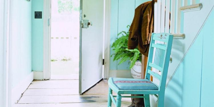 Recibidores con encanto 38 ideas para decorar - Pintar un recibidor ...