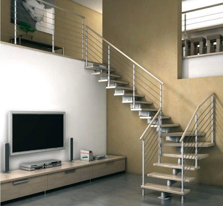 Escaleras de interior modernas 50 dise os que marcan Inside staircase in houses