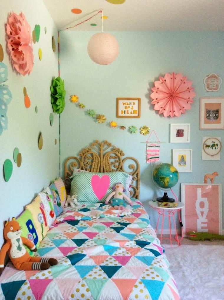 original diseño cabecero habitación infantil