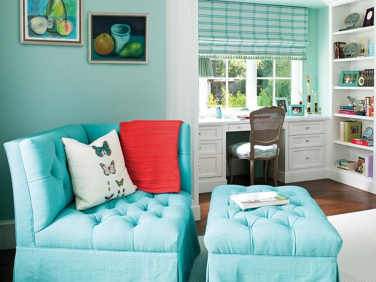Sillones Coloridos.Sillones Para Dormitorios Ideas Coloridas Para Cada Estilo
