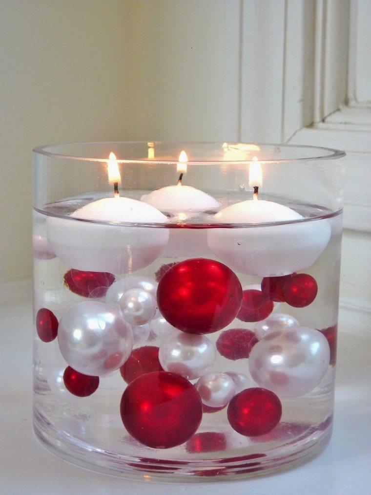 040c17924 View in gallery original centro meas bolas velas Como hacer velas flotantes  – cincuenta ideas sencillas ...