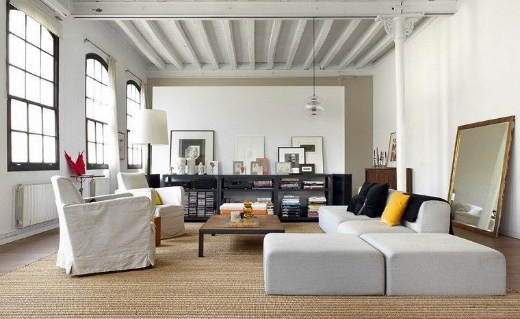 decoracion apartamentos pequeños interiores pequeños blancos