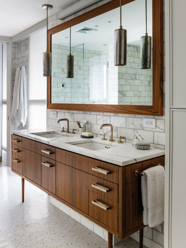 original diseño mueble lavabo madera