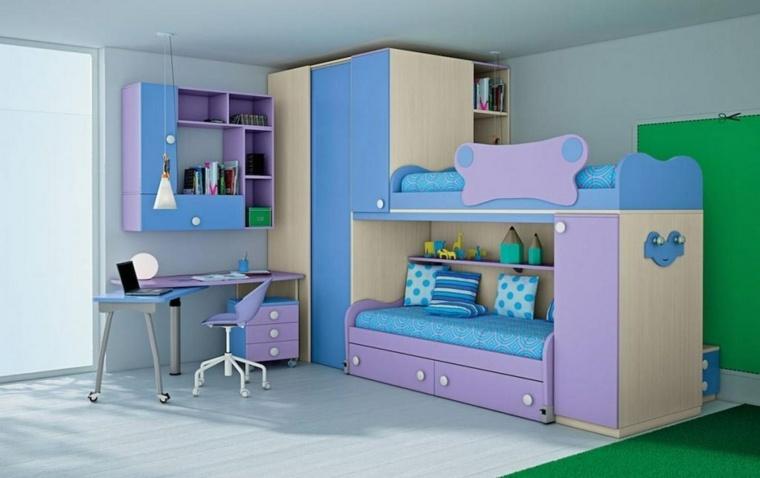 original diseño muebles colores fríos